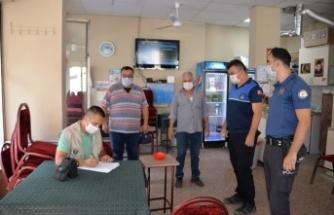 Bergama'da 'Sağlık İçin Hepimiz İçin' denetimi