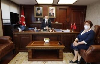 CHP'li Başkan'dan Vali'ye ziyaret