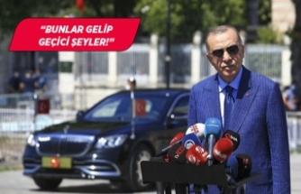 Cumhurbaşkanı Erdoğan'dan piyasalar için ilk yorum