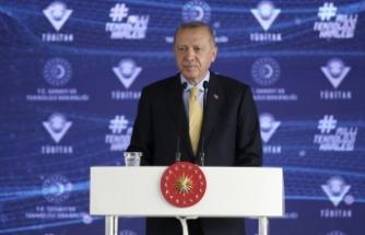 Cumhurbaşkanı Erdoğan, TÜBİTAK töreninde konuştu