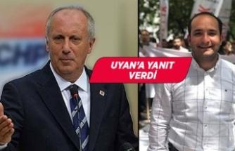 İnce, İzmir İl Gençlik Kolları Başkanına seslendi: Seni bulacağım ve...