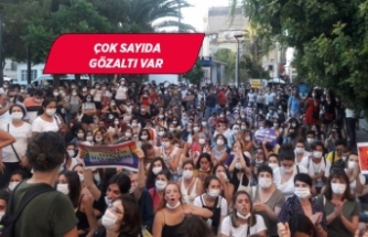 İzmir'de İstanbul Sözleşmesi için toplanan kadınlara polis müdahalesi