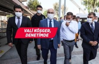 İzmir'de Kovid-19 tedbirleri denetimi
