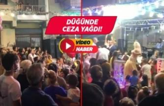 İzmir'de Kovid-19 tedbirlerine uyulmayan düğünün sahibine ceza