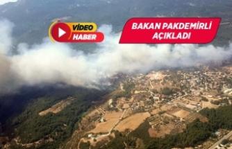 İzmir'deki orman yangınında flaş gözaltı!