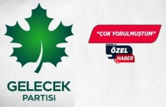 İzmir İl Başkanı istifa etti!