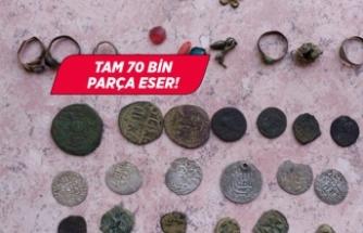 İzmir ve Manisa'da tarihi eser operasyonu!
