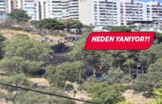 İzmir'de askeri alanda ikinci yangın!