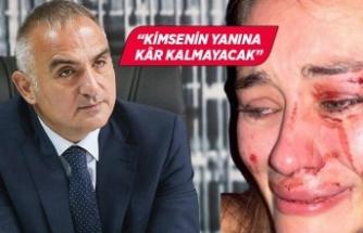 Kültür ve Turizm Bakanı Ersoy'dan Çeşme'deki darp olayına tepki!