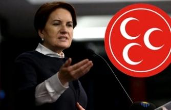 MHP'nin gazetesi Akşener'i hedef aldı