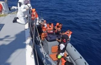 Muğla'da açıklarında 23 sığınmacı kurtarıldı