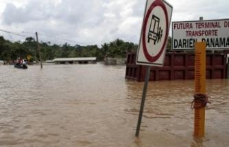 Panama'da selde aynı aileden 11 kişi hayatını kaybetti