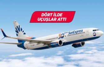 SunExpress, Almanya'dan Türkiye'nin tatil beldelerine uçuşlarını artırıyor