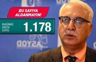"""""""Türkiye'de virüsü taşıyan ve bulaştıran 250 bin kişi var"""""""