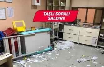 112 Acil Sağlık ekibine taşlı sopalı saldırı!