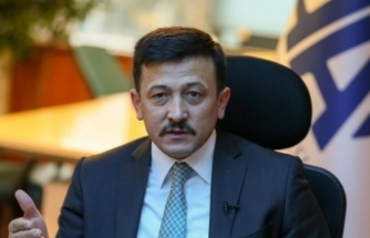 AK Partili Dağ partisinin Tire ilçe kongresinde konuştu