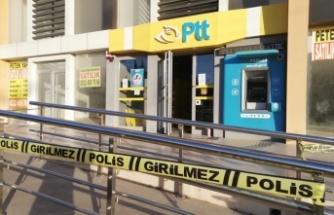 Antalya'da PTT soygunu