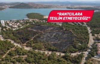 Ayvalık Belediye Başkanı Ergin'den yangınla ilgili açıklama!