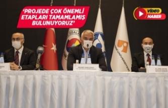 Bakan Ersoy, Ege Turizm Merkezleri Çeşme Projesi toplantısına katıldı