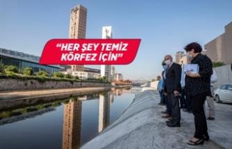 """Başkan Soyer'den Manda Çayı mesajı: """"Her şey temiz bir Körfez için"""""""