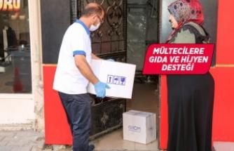 Buca'da mültecilere yardım eli