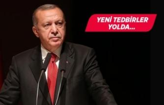 Cumhurbaşkanı Erdoğan yeni tedbirlerin sinyalini verdi!