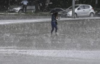 Doğu Karadeniz için kuvvetli yağış uyarısI