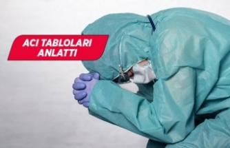 Doktorların koronavirüsle mücadelesi