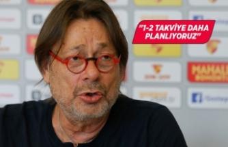 """Göztepe Kulübü Başkanı Sepil: """"İyi bir başlangıç yaptık"""""""