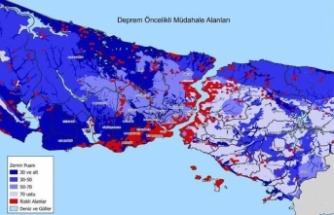 İstanbul'un deprem haritası yayınlandı! En riskli yerler...