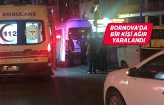 İzmir'de bıçaklanan kişi ağır yaralandı