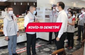 İzmir'de gıda işletmelerine Kovid-19 denetimi