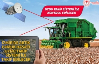 İzmir'de pamuk hasadında yeni dönem!