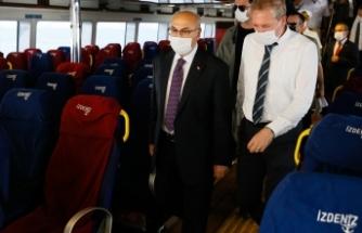 İzmir'de Vali Köşger'den Kovid-19 denetimi
