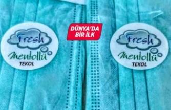 İzmir'den koronavirüse karşı mentollü maske