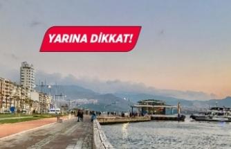 İzmir'e yağmur molası!