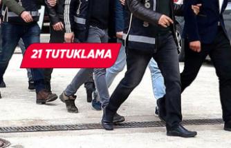 İzmir merkezli FETÖ operasyonu