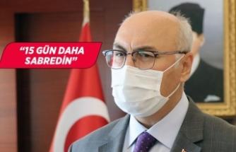 İzmir Valisi Köşger'den izmirlilere çağrı!