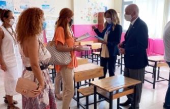 Karşıyaka Rotary'nin toplum birliği okulları yeni eğitim öğretim yılına hazır