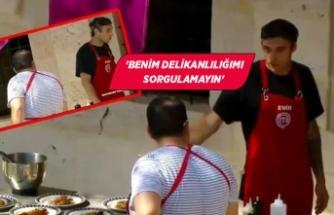 MasterChef'te Emir ve Eray arasında kavga!