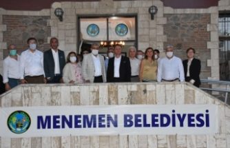Menemen'in yeni projeleri tanıtıldı