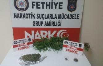 Muğla'da kargoyla uyuşturucu sevkiyatı!
