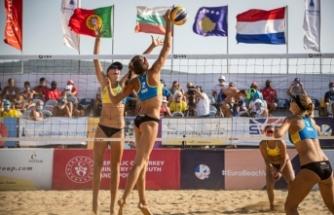 Plaj voleybolunda 22 Yaş Altı Avrupa Şampiyonası yarın İzmir'de başlayacak