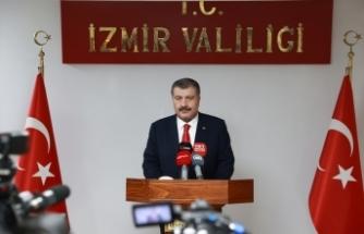 Sağlık Bakanı Fahrettin Koca, İzmir'de