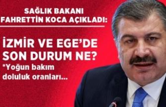 Bakan Koca'dan İzmir'de önemli açıklamalar!