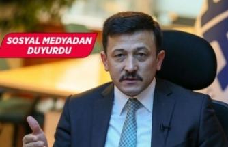 AK Partili Hamza Dağ'ın koronavirüs testi pozitif çıktı!
