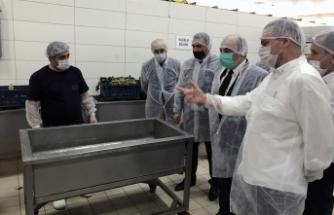 Aliağa'da Kaymakam Karaman, koronovirüs denetimi yaptı