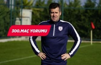 Altınordu Teknik Direktörü Hüseyin Eroğlu'ndan 300. maç yorumu