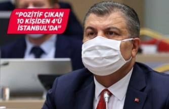 Bakan Koca: Vakaların yüzde 40'ı İstanbul'da