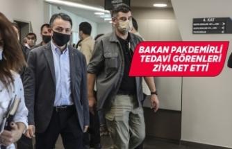 Bakan Pakdemirli Buse Hasyılmaz'ı hastanede ziyaret etti